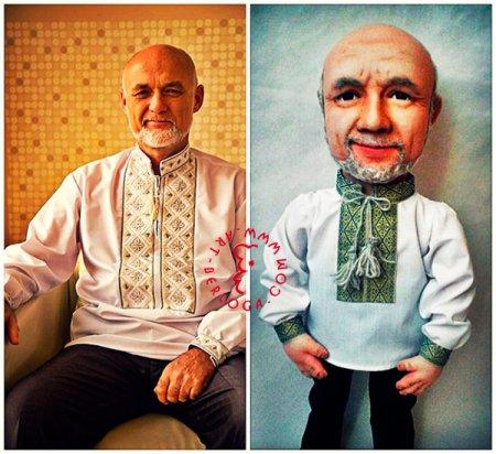 Кукла портретный шарж.