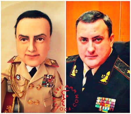 Портретная кукла - Генерал