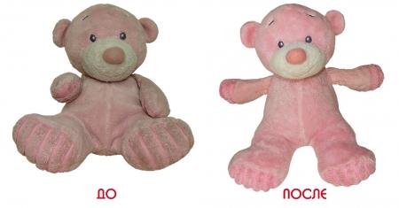 Реставрация маленького, розового мишки.
