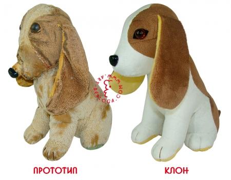 Клонирование плюшевой собачки.