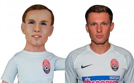 Портретная кукла футболиста Руслана Бабенко