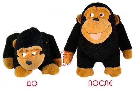 Реставрация любимой плюшевой обезьяны.