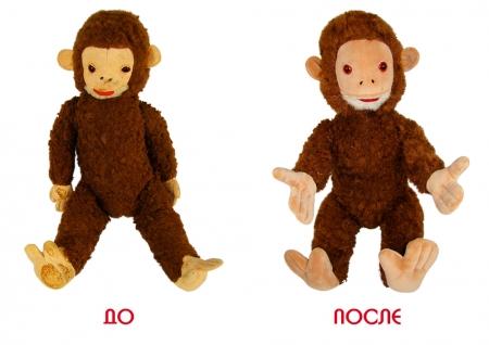 Реставрация 45 летней обезьянки.
