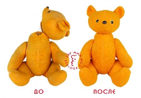 Ремонт мишки времен СССР