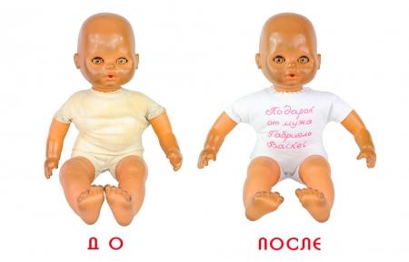 Реставрация тела куклы и глаз