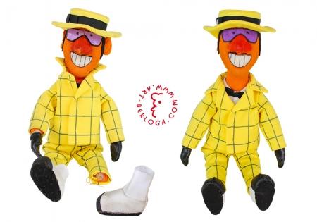 Ремонт мягкой куклы Сыщика