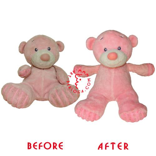 Восстановление розового мишки
