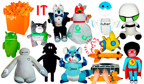 Пошив плюшевых игрушек