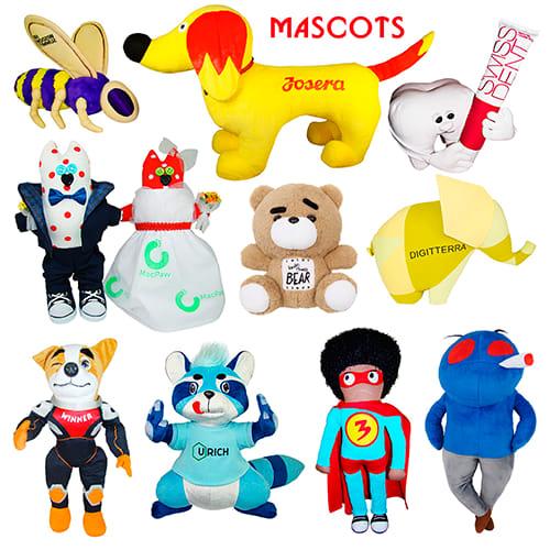 Плюшевые бренд маскоты