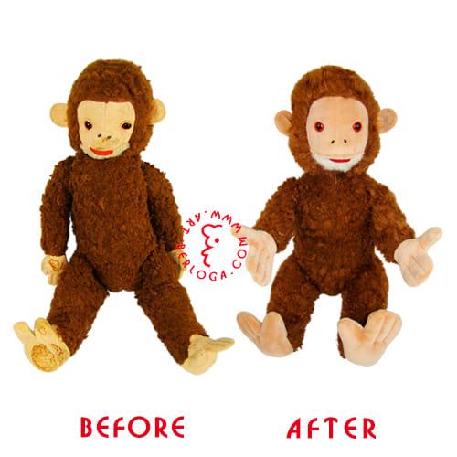 Ремонт раритетной обезьянки