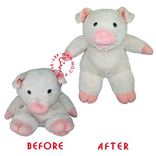 Реставрация большой свинки