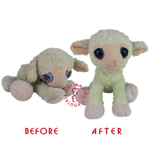 Восстановление мягкой овечки