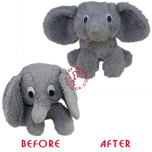 Восстановление игрушки слоника