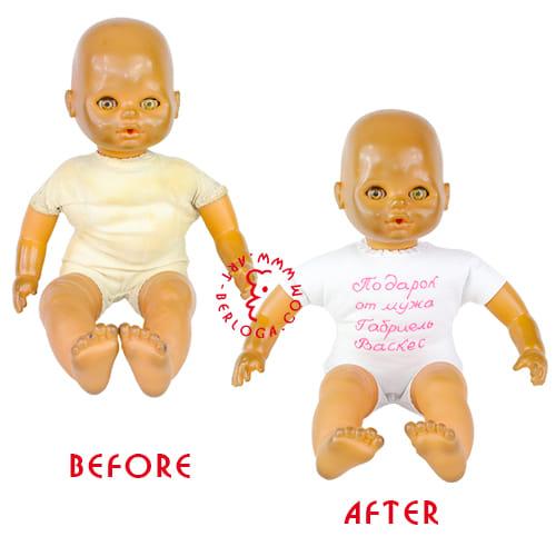 Пошив нового тела куклы