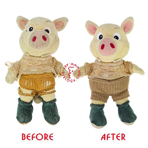 Восстановление маленькой свинки