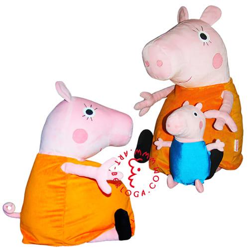 Пошив игрушка мамы свинки