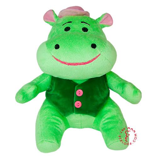 Пошив зеленого бегемота