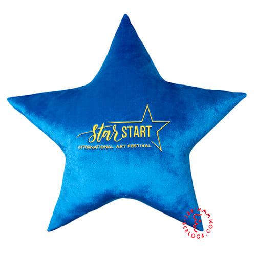 Пошив подушки с логотипом
