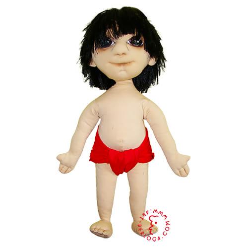 Пошив куклы Маугли