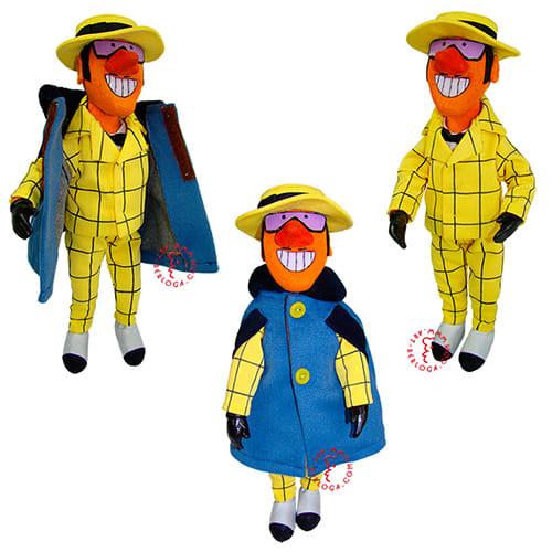 Текстильная кукла Сыщик