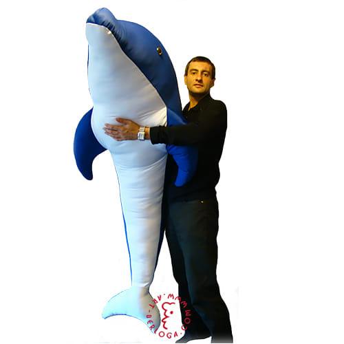 Огромная игрушка Дельфин