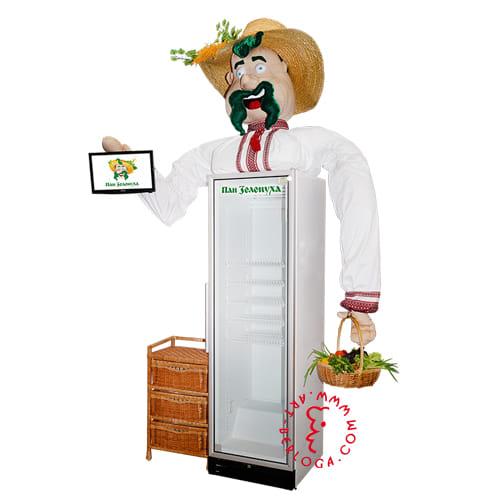 Декор холодильника текстилем