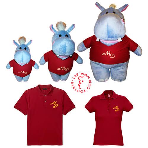 Бренд игрушки и одежда для клиники